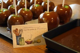 Apples and recipe