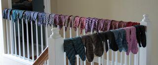 Sock bannister