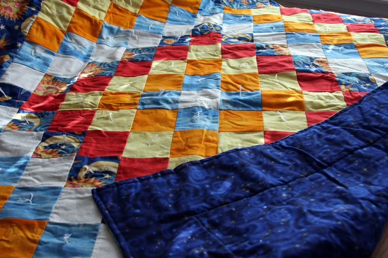 Baby quilt from julie 2