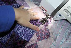 Purple patchwork