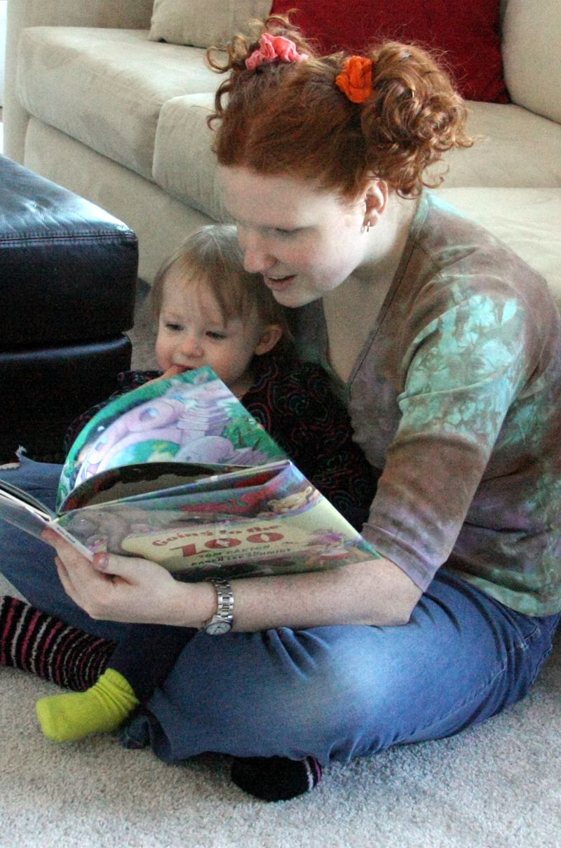 Reading with aa