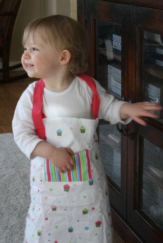Loving  my apron