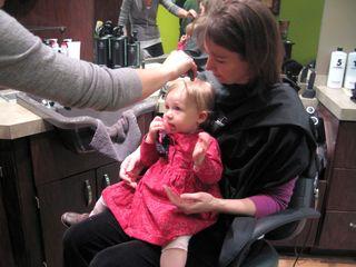 First haircut attempt