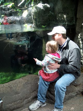 Fish with daddy