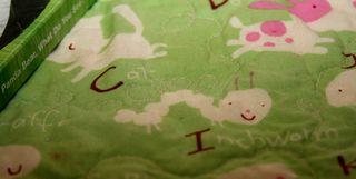 Inchworm detail.